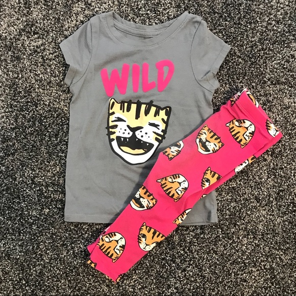 b8b7f1909 Cat & Jack Matching Sets | Cat Jack Tiger Shirt With Leggings | Poshmark